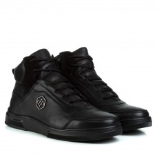 Ботинки мужские кожаные зимние Zumer