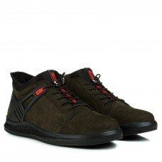 Ботинки мужские замшевые зимние Zumer