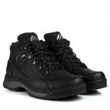 Ботинки мужские кожаные зимние черные Extrem