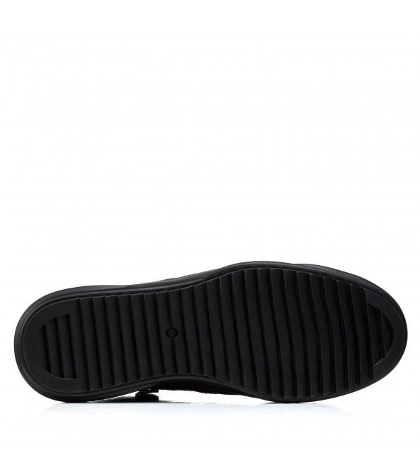 Черевики чоловічі замшеві чорні Brionis