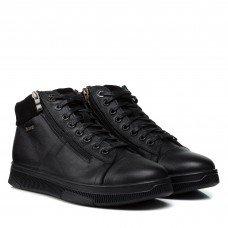 Ботинки мужские кожаные черные Extrem