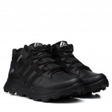 Ботинки мужские кожаные черные спортивные Extrem