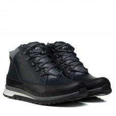 Ботинки мужские кожаные синие спортивные Extrem