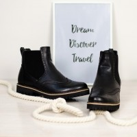 Классические ботинки женские с чем носить? Тренды 2019 года